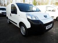 Peugeot Bipper 1.3 Hdi 75 S [Non Start/Stop] DIESEL MANUAL WHITE (2015)