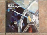 """Vinyl LP """"2001 a space odyssey"""""""