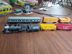 Two HO scale Steam Trains