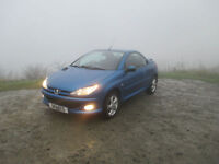 Peugeot 206 1.6 16v 2005MY Coupe Cabriolet Allure