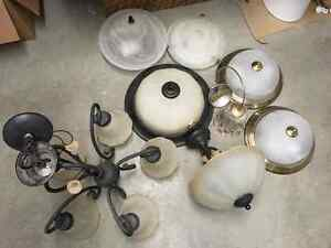 Various light fixture for sale