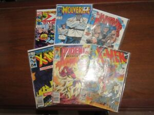 Vintage Uncanny X-Men Comic Book Collection Lot