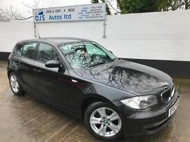 BMW 2007 116i SE 1.6 Petrol Manual Hatchback in Black