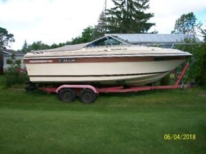 23' Thundercraft w/trailer