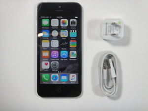 Original Unlocked iPhone 5 16GB boite,chargeur,nice
