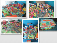 Happyland/fisher price/ toot toot toys