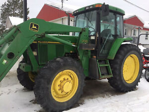 John Deere 7200 with 740 loader