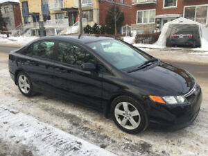 HONDA CIVIC LX 2006,AUTOMATIC,CLIMATISE,BAS MILAGE,A1,IMPECCABLE