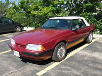 1987 Mustang Convertible One Owner Western Car
