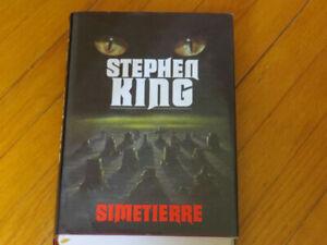 STEPHEN KING/ SIMETIERRE / LITTÉRATURE /HORREUR