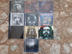 10 Hard Rock/Heavy Metal CD's