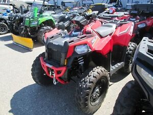 2015 Polaris Scrambler 850 Indy Red