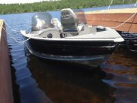 2006 Lund 1700 Explorer with 90 Mercury outboard