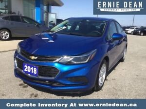 2018 Chevrolet Cruze True North Edition   - 2018 - ONE OWNER - N