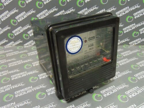 USED ABB 1354D01A02 Type MCO Generator Overcurrent Relay