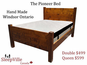 **Pioneer Bed *Hand Made in Windsor* Solid Wood* Free Delivery!!