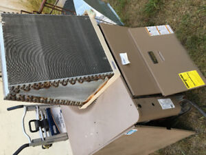 Used 90% gas furnace and ac unit
