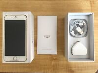 iPhone 6 128gb GOLD on EE. Perfect condition.