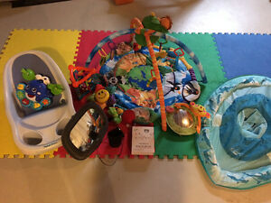 Lot of baby items
