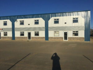 Commercial Office/Shop Bays for Lease Peace River