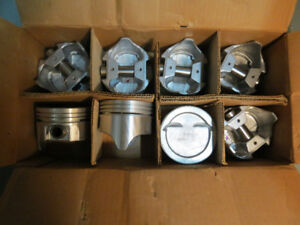 REDUCED: New pistons and rings SBC 350 / 5.7 Std bore 1969?-1986