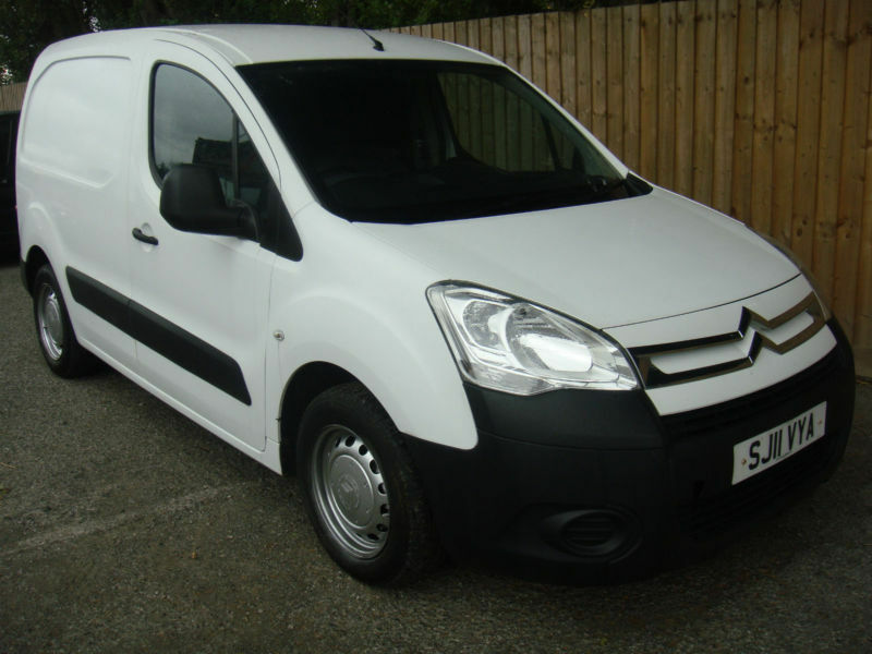 2011 11 citroen berlingo van 1 6 hdi 75 l1 625 x 89k 57 6 mpg may p x in hinckley. Black Bedroom Furniture Sets. Home Design Ideas