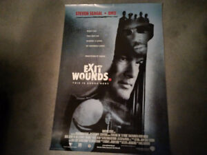 Movie Poster - Exit Wounds (Steven Seagal)