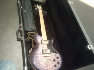 Washburn WI-64DL with hard case and extras