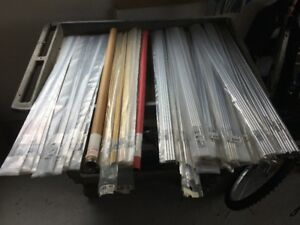 Large Inventory of K&S Tubing, strips, etc