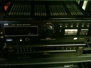 JVC am/fm Receiver with a turntable & bookshelf speakers London Ontario image 2