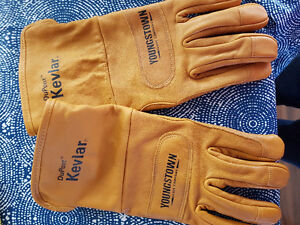 Youngstown's FR Leather Utility Plus Gloves +Kevlar