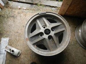 14 inch 4 by 4.75 inch aluminium rims Kawartha Lakes Peterborough Area image 1