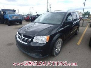 2012 DODGE GRAND CARAVAN SXT WAGON 7PASS 3.6L SXT