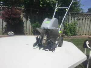 "Rototiller 12"" electric machine perfect for a small garden"