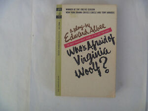 Who's Afraid Of Virginia Woolf? by Edward Albee 1963 Paperback