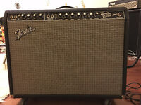 Fender Twin Reverb 65 Reissue - Awesome shape and tone.