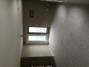 Two bedroom lake view apartment with heated parkade