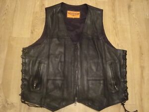 Leather vest For Sale