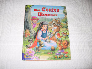 Livre «mes contes merveilleux» vintage