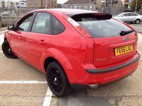 Ford Focus MK 2 titanium range