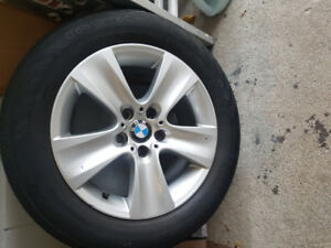 BMW x3 235/55/ r 17 Rims and tires
