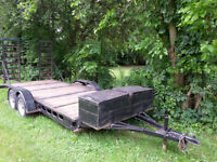 Skid Steer,Bobcat Trailer/Car Trailer