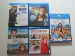 Various Blu-Ray's