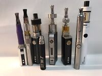 Job Lot Of Electronic Cigarettes - Kangertech - Subvod - Eleaf