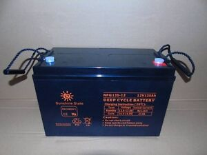 12V135A/H DEEP CYCLE AGM BATTERY FREE DELIVERY Cairns Cairns City Preview