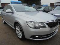 2014 14 SKODA SUPERB 2.0 SE TDI CR 5DR 140 BHP FINANCE WITH NO DEPOSIT AND NOTHI