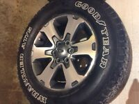 """18"""" FX4 Ford Tires & Rims - REDUCED"""