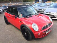 MINI ONE 1.6 CONVERTIBLE 3 DOOR 2006 / 79K MILES / EXCELLENT CONDITION / HPI CLEAR / 3 KEYS