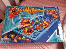Piranha Panic Game