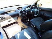 2003 03 PEUGEOT 206 2.0 GTI 3D 135 BHP
